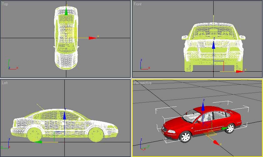 Heap : зd модели авто